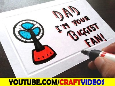 GREETING CARDS FOR FATHER'S DAY. DIY CARD FOR FATHER'S DAY. FATHER'S DAY CARD IDEA