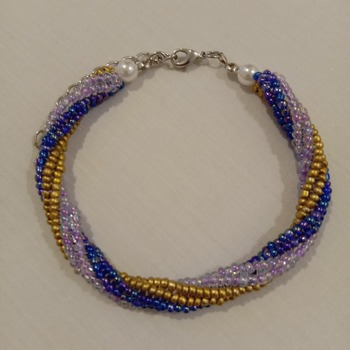 Handmade Tubular Twisted Bracelet