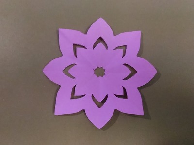 How to cut flower design in a giramic paper. !