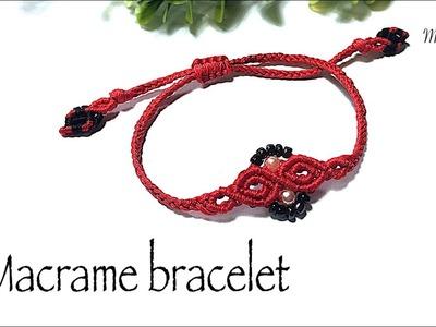 How to make a macrame bracelet- DIY bracelet with Myow handmade - VT0033