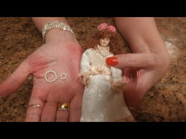 How To Make A  Miniature Doll Necklace And Bracelet