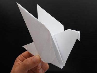 How to Make a Paper Dove Origami Easy and Fast