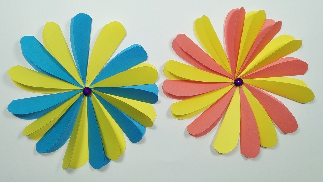 How to make amazing paper flower | DIY Origami