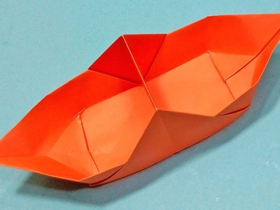 How to Make an Origami boat from paper | Origami Boat Easy Instruction For Kids