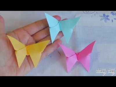 How to make an Origami Butterfly in 2 minutes