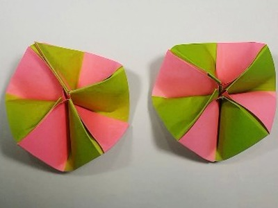 How to Make Beautiful Flower With Color Paper || DIY: Paper Flowers Making Step by Step.