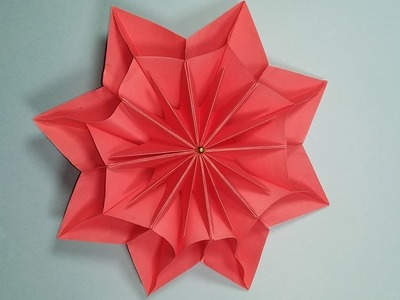 How to make easy paper flower | DIY- Origami and simple