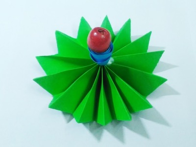 How to make Folding type flower using origami paper. ! #origami