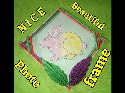 How to make photo frame at home!!!