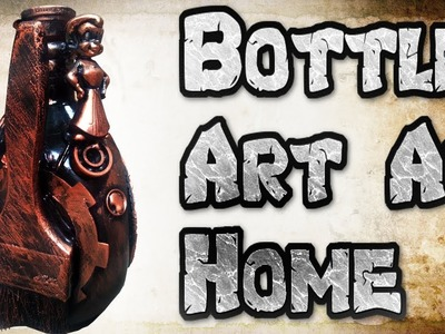 How To Make Wine Bottle Decorations Waste Material || waste material  wine bottle