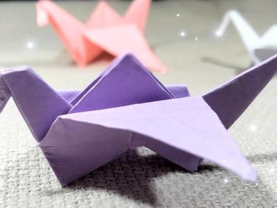 Origami Crane.DIY Room Decoration.DIY Paper Origami Crane