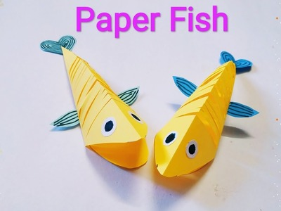 Origami Fish | How To Make A Paper Fish | Paper Fish | sweety trendzzz