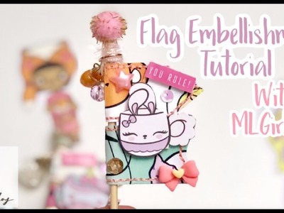 Paper Flag Embellishments with MLGirl Kat