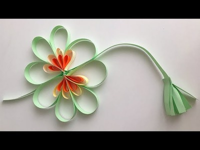 [Paper Flower Origami] how to make folding origami easy small paper Flower DIY for kids