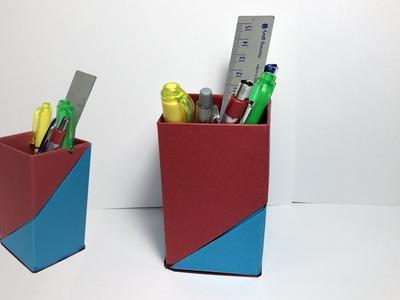 Pen Box Easy - How to Make a Pen Box - DIY