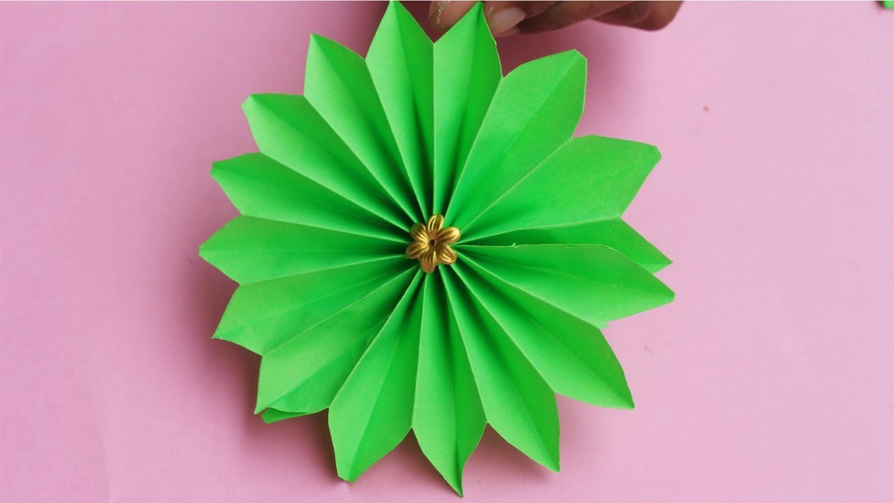 Simple and Easy Paper Flower Making | DIY Paper Flowers
