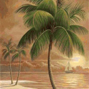 ( CRAFTS ) TropicaL PaLm Tree Cross Stitch Pattern***LOOK***Buyers Can Download Your Pattern As Soon As They Complete The Purchase