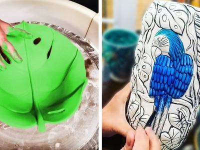 A BEAUTIFUL COMPILATION OF NATURE-INSPIRED POTTERY