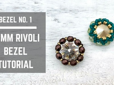 Bezel No. 1 | How to bezel 14 mm Swarovski Rivoli