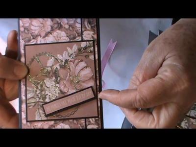 Boxed mini album   using Steampunk Romance paper line