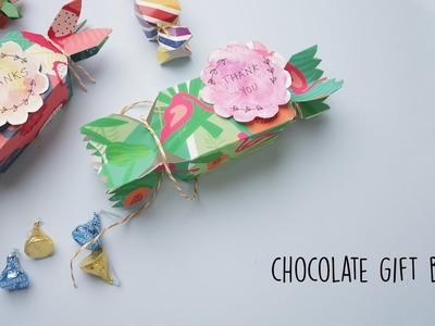 Chocolate Gift Box Ideas | Party Favors | DIY Gift box