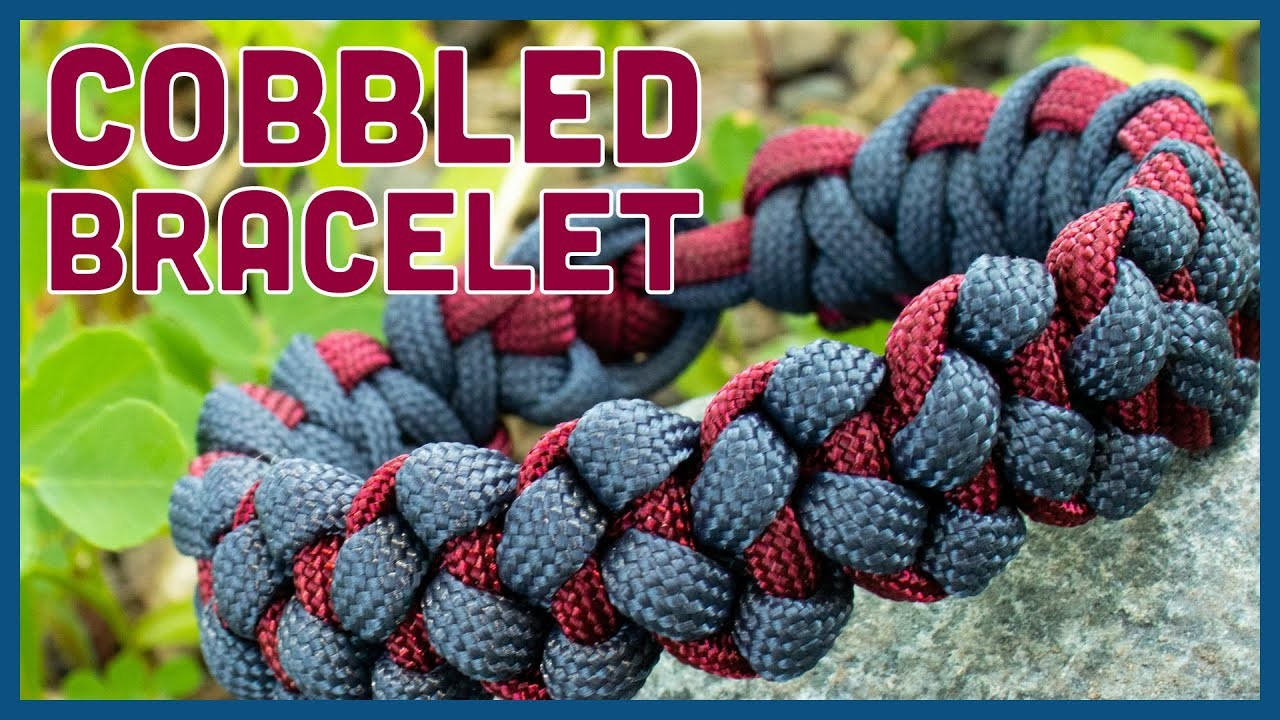 Cobbled Soloman Bar Paracord Bracelet—Tying It All Together