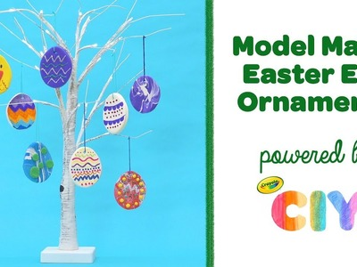 Crayola CIY || Model Magic Easter Egg Ornaments