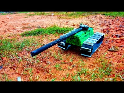 DIY How to make a Rc patton tank army