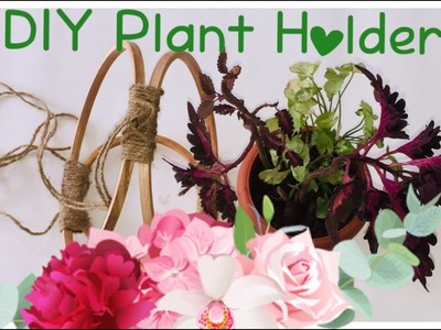 DIY Plant Holder Ideas For Your Indoor And Outdoor Spaces