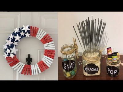 Dollar tree patriotic DIY| June 17 2019