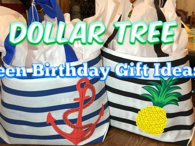 Dollar Tree Teen Birthday Gift Ideas