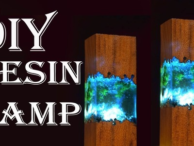 EASY  Making Epoxy Resin Lamps ! | How to make NIGHT LAMP with RESIN and WOOD