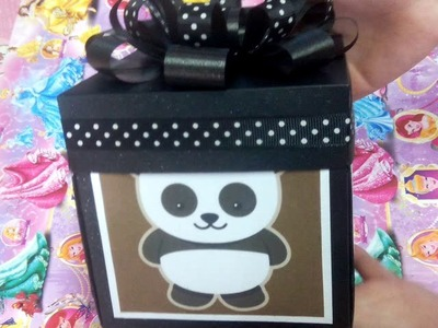 Explosion Box Panda Lover