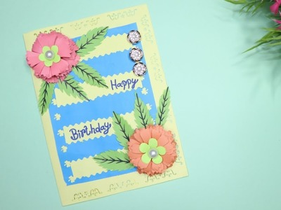 Happy Birthday Wishes Card | Happy Greeting Card | Hand Made Birthday Cards | Do It Yourself Crafts