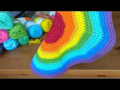 Hobbii Rainbow 8.4 Cotton Yarn Review