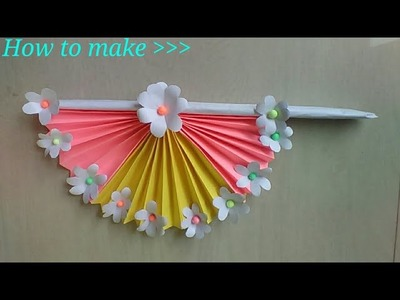 How to Make a Beautiful Handfan | DIY Projects