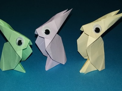 How to make a Paper Rabbit