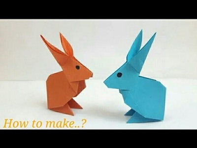 How to Make a Paper Rabbit. ?
