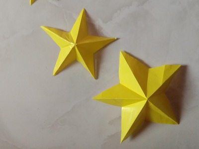 How to make a Paper Star easy