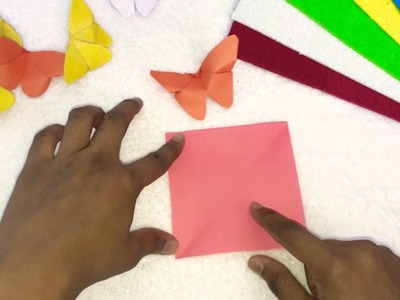 How to make butterfly with paper