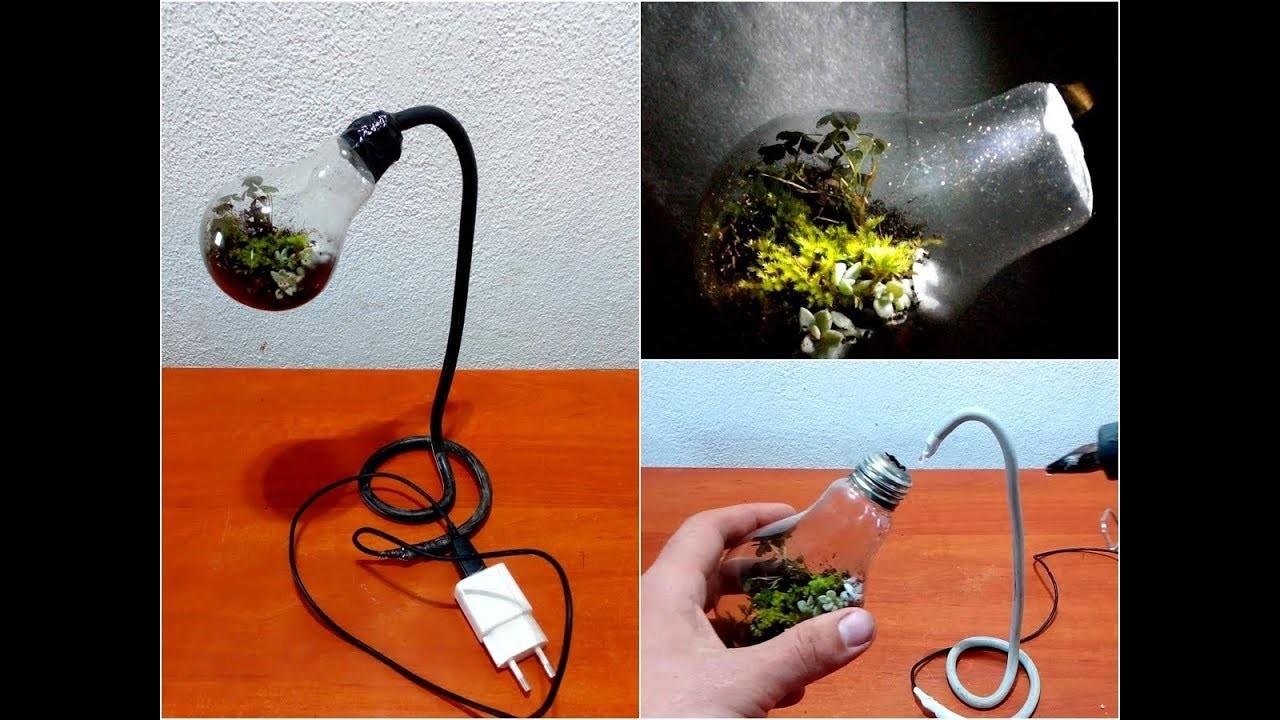 How to make Terrarium like a Night Lamp