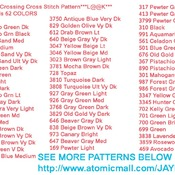 CRAFTS John Deere Crossing Cross Stitch Pattern***LOOK***Buyers Can Download Your Pattern As Soon As They Complete The Purchase