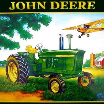 John Deere Plane Cross Stitch Pattern ***LOOK***