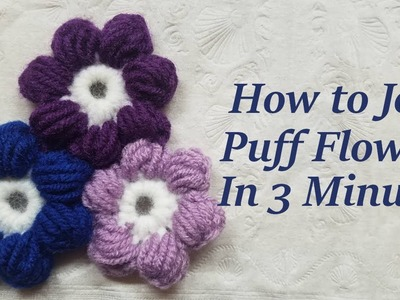Join Puff Flowers the Easy Way