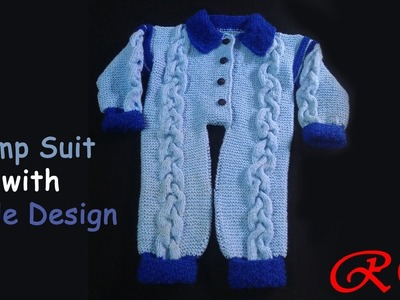 Jump Suit Cable Design for 1-1.5years old | Cable Design