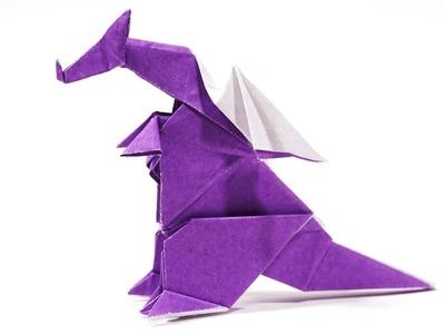 Origami Dragon (Hideo Komatsu) - Paper Crafts 1101