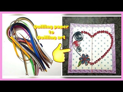 Paper quilling art || Creative quilling paper ideas || Quilling art for beginners