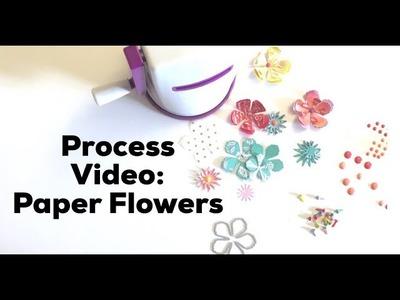 Process Video: Paper Flowers