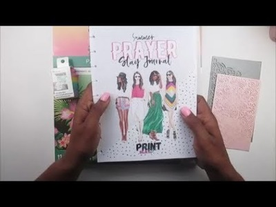Summer Prayer Journal || Set Up || ft. Print Pray Slay