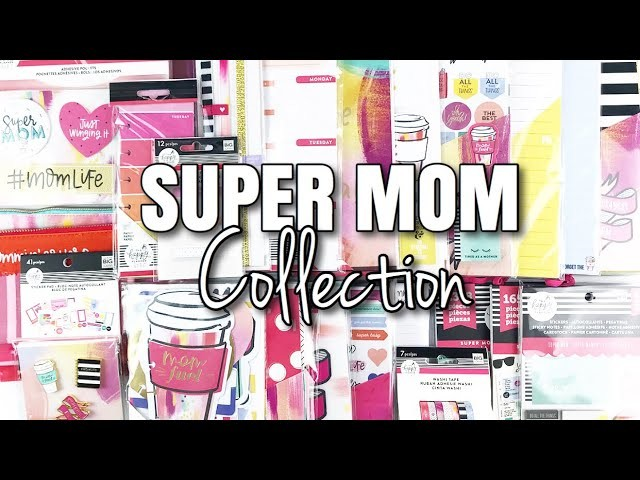 SUPER MOM Happy Planner Girl Collection   At Home With Quita
